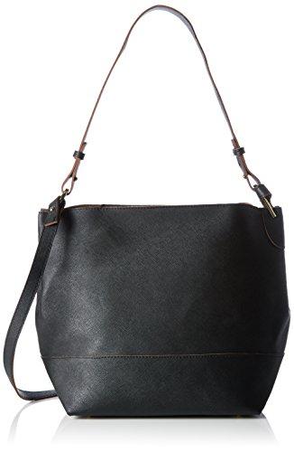 pieces-damen-pcpilla-bucket-bag-henkeltaschen-schwarz-black-26x28x17-cm