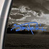 Jimi Hendrix Blue Decal Signature Rock Window Blue Sticker