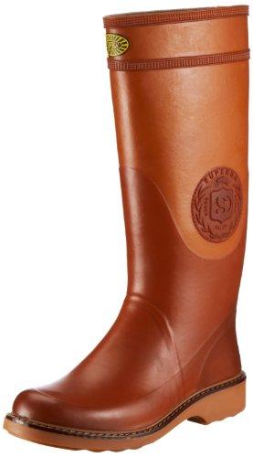 Superga 2038, Stivali di gomma unisex adulto, Arancione (Orange (Caramello A04)), 36