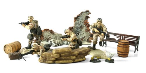 Buy Low Price Panache Place Unimax Forces of Valor 1:32 Scale U.S. 101st Airborne Division – Desert Storm Figure (B001IYIFUO)
