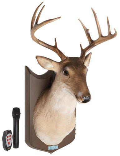 Buy Buck the Animated Trophy Deer Sings Talks Moves Karaoke