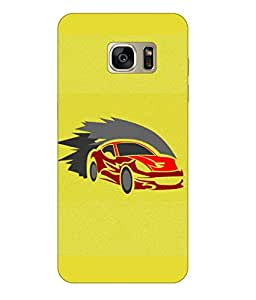 Happoz Samsung Galaxy Note 7 (N930G) Cases Back Cover Mobile Pouches Shell Hard Plastic Graphic Armour Premium Printed Designer Cartoon Girl 3D Funky Fancy Slim Graffiti Imported Cute Colurful Stylish Boys D357