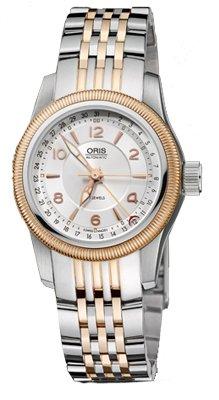 Oris Women's OR584-7626-4361MB Big Crown Silver Dial Watch