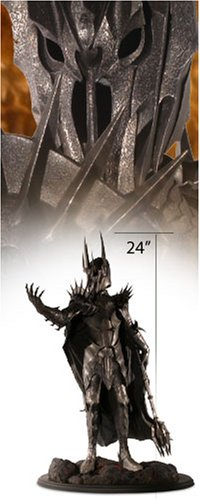 Picture of Sideshow Dark Lord Sauron Polystone Statue Lord Of The Rings Figure (B000FNHOCO) (Sideshow Action Figures)
