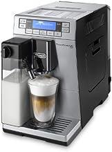 DeLonghi ETAM 36.366.MB LatteCrema Kaffee-Vollautomat Prima Donna XS (1,3 l, 15 bar, 1450 Watt, Milchbehälter, 19,5 cm breit, Edelstahlfront) silber/schwarz
