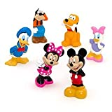 Disney, Mickey Mouse Clubhouse 6 Pc Bath Toys,