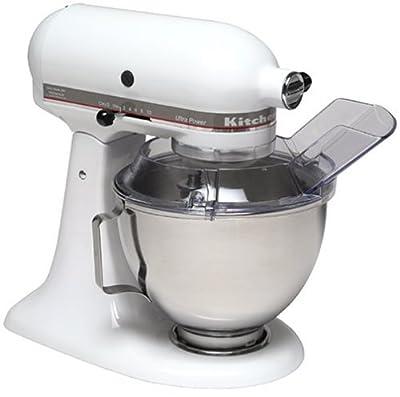 KitchenAid KSM90PSWH 300-Watt Ultra Power 4-1/2-Quart Stand Mixer, White