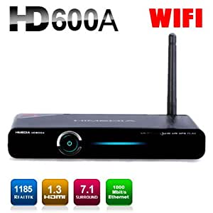 Himedia HD600A Chinese TV Box. Wach 200+ Mainland China TV Channels (Including Live China CCTV Channels and Many Many Live Local China Satellite TV) Streaming, Movies and Videos. No Monthly Fee. Black Color