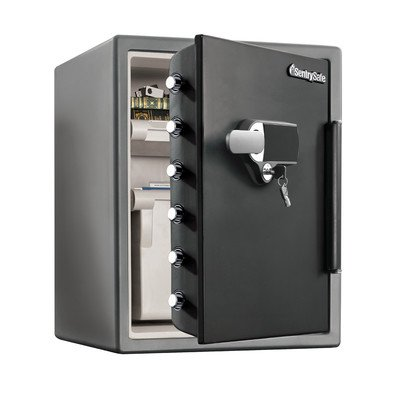 Sentry Safe SFW205UPC Electronic Alarm Water/Fire-Resist Safe, 2.05 ft3, 19 3/10 x 19 3/8 x 23 7/8 (SENSFW205UPC) (Sentry Safe Digital compare prices)