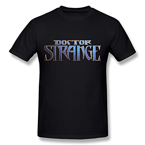 Men's Doctor Strange Logo T Shirt Black