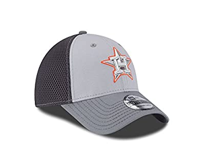 MLB Houston Astros Grayed Out NEO 39Thirty Stretch Fit Cap
