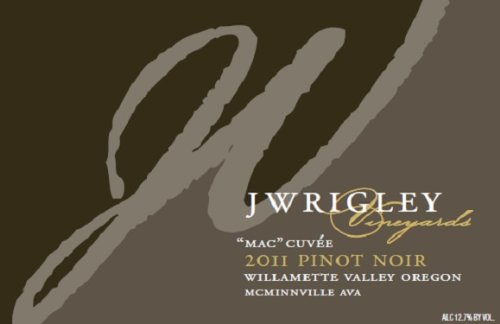 2011 J Wrigley Mac Cuvée Pinot Noir 750 Ml