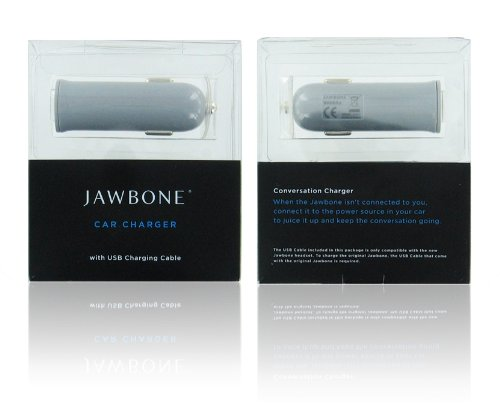 Jawbone Oem Car Charger Adapter For Prime And Jawbone Ii Bluetooth Headset [ Retail Packaging ]