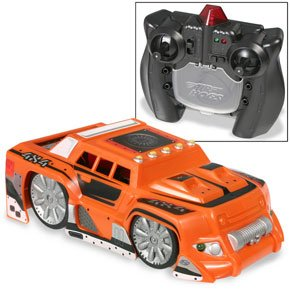 Review Air Hogs Zero Gravity Micro Orange Rugged Car
