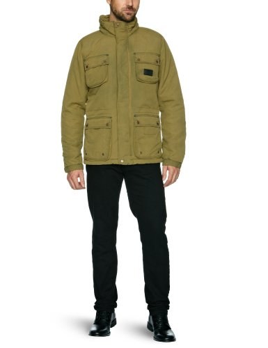 Bench Leicester Men's Jacket Dark Mustard Medium