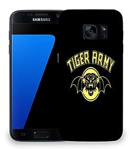 Snoogg Tiger Army Designer Protective Back Case Cover For SAMSAMSUNG S7