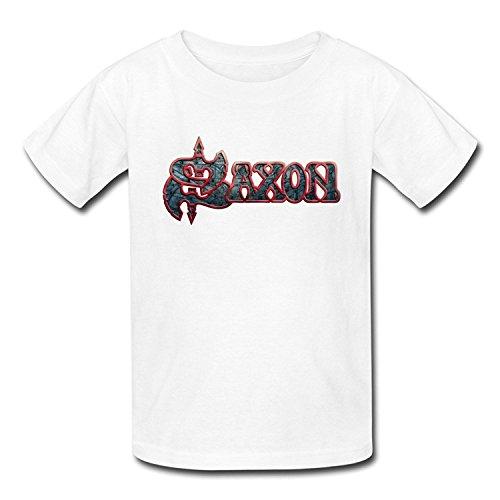 Goldfish Youth Cool Style Ring Spun Cotton Saxon T-Shirt XLarge