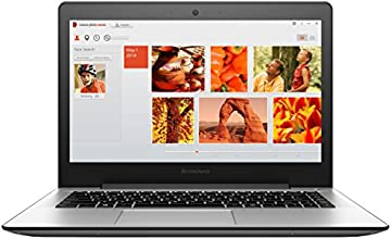 "Lenovo U41-70 Ordinateur portable 14"" Argent (Intel Core i5, 4 Go de RAM, 1 To + 8 Go SSD, Nvidia GeForce 920, Mise à jour Windows 10 gratuite)"