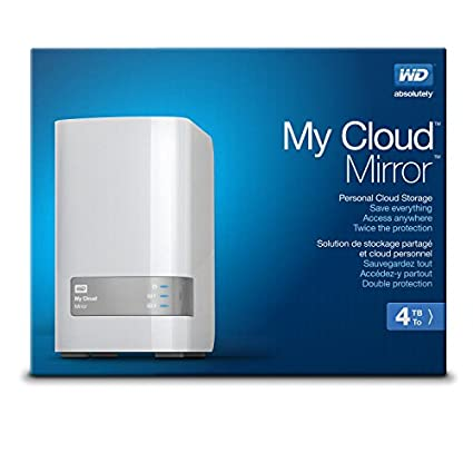 WD My Cloud Mirror 4TB 2-Bay Personal Cloud Storage