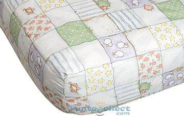 Goodnight Bears Crib Sheet