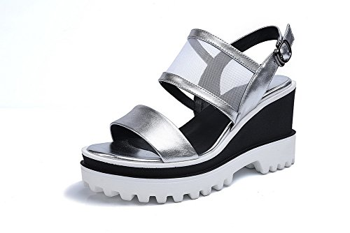 voguezone009-womens-solid-blend-materials-high-heels-open-toe-buckle-sandals-silver-36