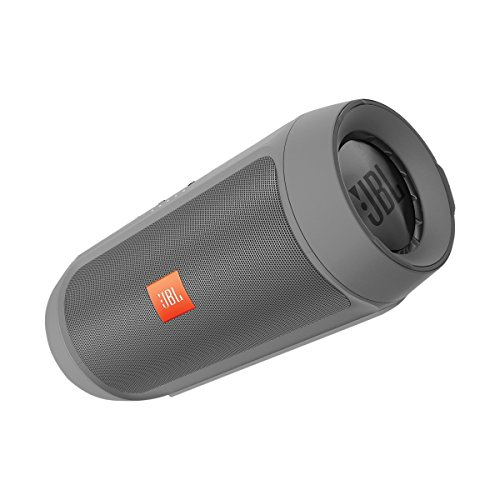 JBL Charge 2+ - Enceinte Portable Bluetooth Résistante aux Projections d'Eau - Gris