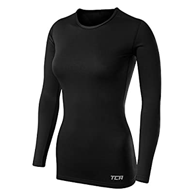 Women's TCA SuperThermal Long Sleeve Performance Base Layer Running Training Top from Thorogood Sports