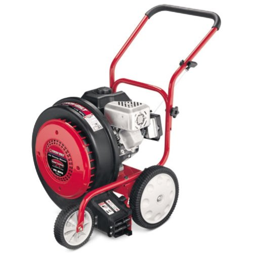 Troy-Bilt TB672 150 MPH Jet Sweep Variable Speed Power Sweeper With 205cc Briggs & Stratton 850 Series OHV Gas Power Engine