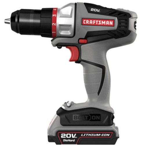Craftsman power tools combo craftsman 16496 bolt on 20 for Who makes power craft tools