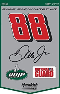 Dale Earnhardt Jr. #88 Wool Banner by Mounted Memories