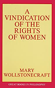"""Cover of """"A Vindication of the Rights of ..."""