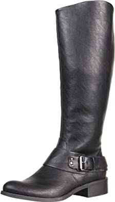 Jessica Simpson Women's JS-Beatricy Riding Boot,Black Night,9 M US