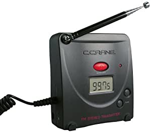 C. Crane FMT Digital FM Transmitter with AC Adapter