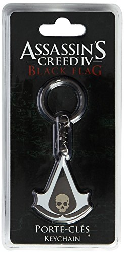 ASSASSIN'S CREED KEYCHAIN PORTACHIAVI BLACK FLAG