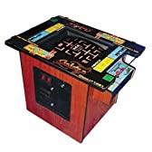 Ms. Pac-Man / Galaga クラシック Cocktail テーブル Arcade Game with 19-Inch Monitor