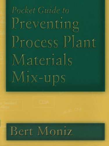 Pocket Guide to Preventing Process Plant Materials Mix-ups (Chemical Engineering)