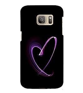 ifasho Designer Phone Back Case Cover Samsung Galaxy S7 :: Samsung Galaxy S7 Duos :: Samsung Galaxy S7 G930F G930 G930Fd ( Letter A Alphabet )