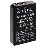 Batterie EN-EL20 pour Nikon 1 J1, 1 J2, 1 J3, 1 S1, Coolpix A