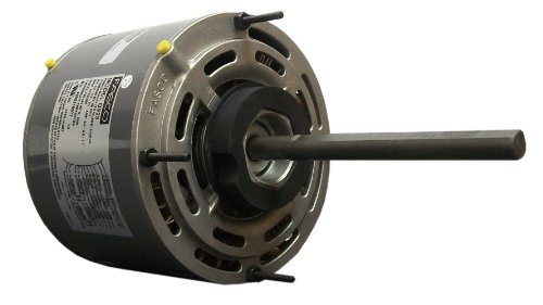 Fasco D725 5.6-Inch Direct Drive Blower Motor, 1/4 Hp, 208-230 Volts, 1075 Rpm, 3 Speed, 2.2 Amps, Oao Enclosure, Reversible Rotation, Sleeve Bearing