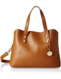 Lino Perros Women's Handbag (Brown) - B0725JXDVY