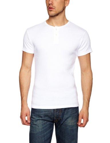 Levi's® Skinny Rib Henley Men's T-Shirt White Small