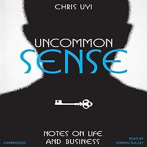 Uncommon Sense Audiobook