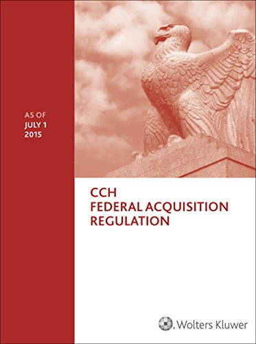 Federal Acquisition Regulation (FAR) - as of July 2015