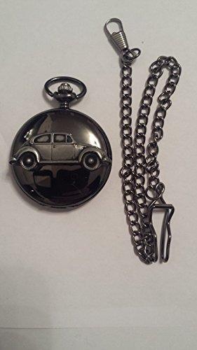 vw-beetle-1200-ref290-pewter-effect-emblem-polished-black-case-mens-gift-quartz-pocket-watch-fob-mad