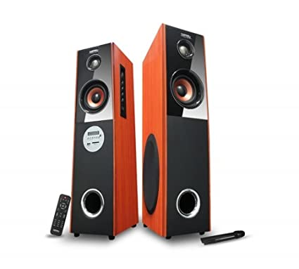 Zebronics T-7400RUCF 2 Channel Multimedia Speaker