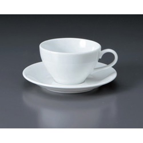 Cup And Saucer utw656-25-654 [6 x 0.8 inch] Japanece ceramic Maxim (especially white porcelain) combined C / S tableware equus coffee cup with saucer lladro porcelain