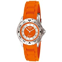 Activa By Invicta Womens SV010-002Generation Collection Orange Rubber Strap Watch