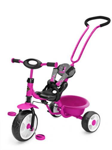 Milly Mally BOBY NEW Tricycle moderne – Rose