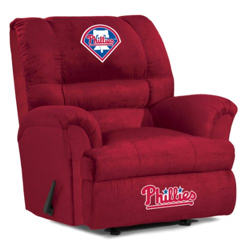 MLB Philadelphia Phillies Big Daddy Microfiber Recliner - 1