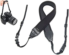 Polaroid Neoprene Adjustable Cushioned Neck Strap For The Pentax Q Q7 Q10 K-3 K-50 K-500 X-5 K-01 K-